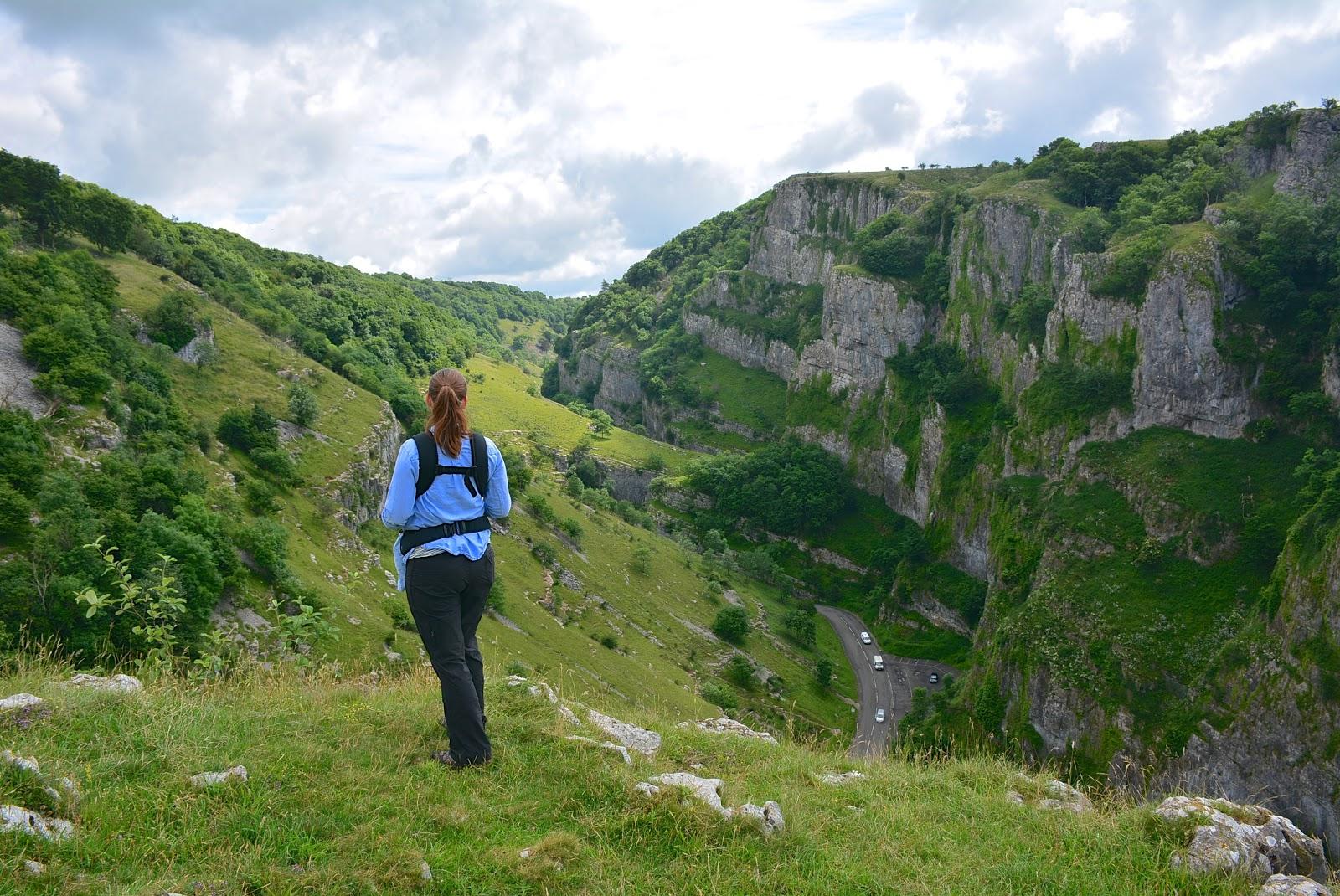 Cheddar Gorge in Somerset