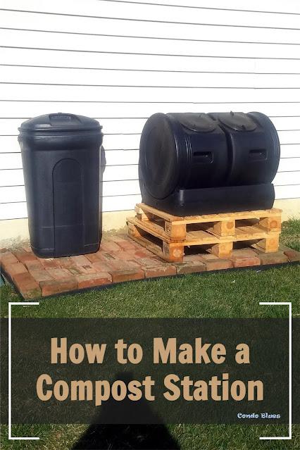 how to create a backyard compost area
