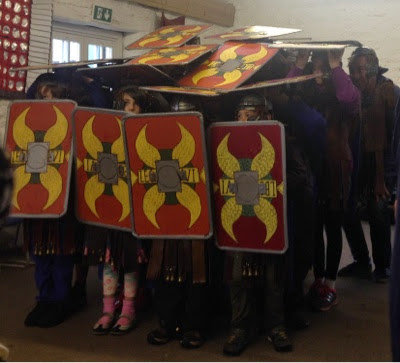 English Heritage Roman Soldier School