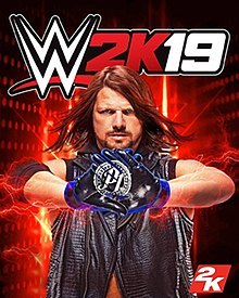 WWE 2K19 Jogos Torrent Download capa