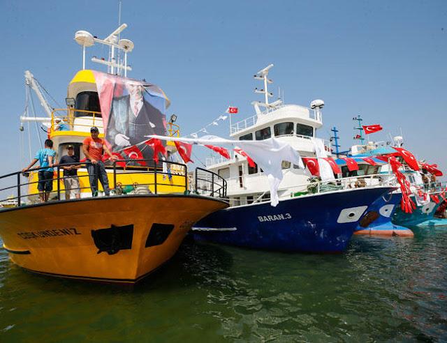 """نواذيبو : فاعل في مجال الصيد يحذر من دخول """" مرتقب """" لعشرات الأتراك عائدين من بلدهم """" الموبوء """" بكوفيد 19..."""