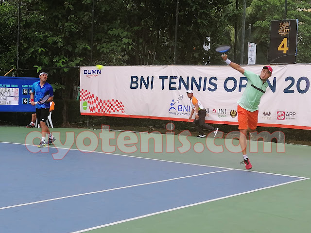 Menangi Final Ideal, David/Anthony Sabet Gelar Juara Tennis Open di Jakarta