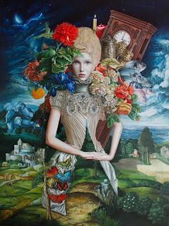 pinturas-femeninas-con-el-toque-en-realismo-magico mujeres-pinturas-magico-realismo