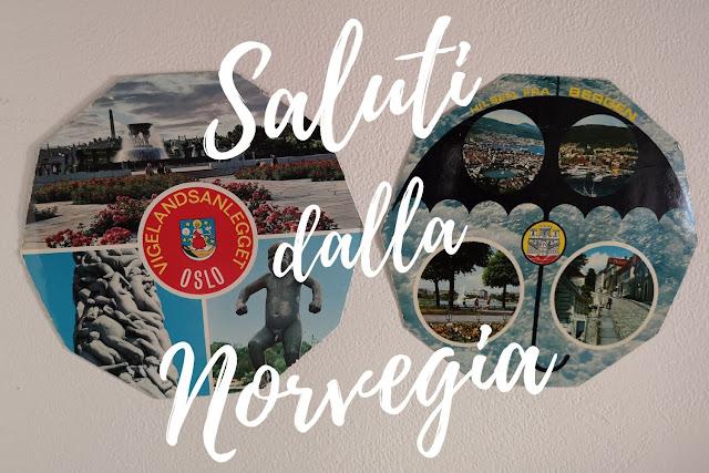 Cartoline della Norvegia del 1979