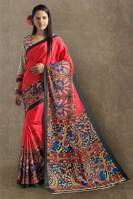 Shopping, Style and Us: India's Best Shopping and Self-Help Blog - Madhubani Sarees, originally designed and made in Bihar has reached across the globe. Adorned by many working women, it is safe to ay that they are the choice of Indian women,