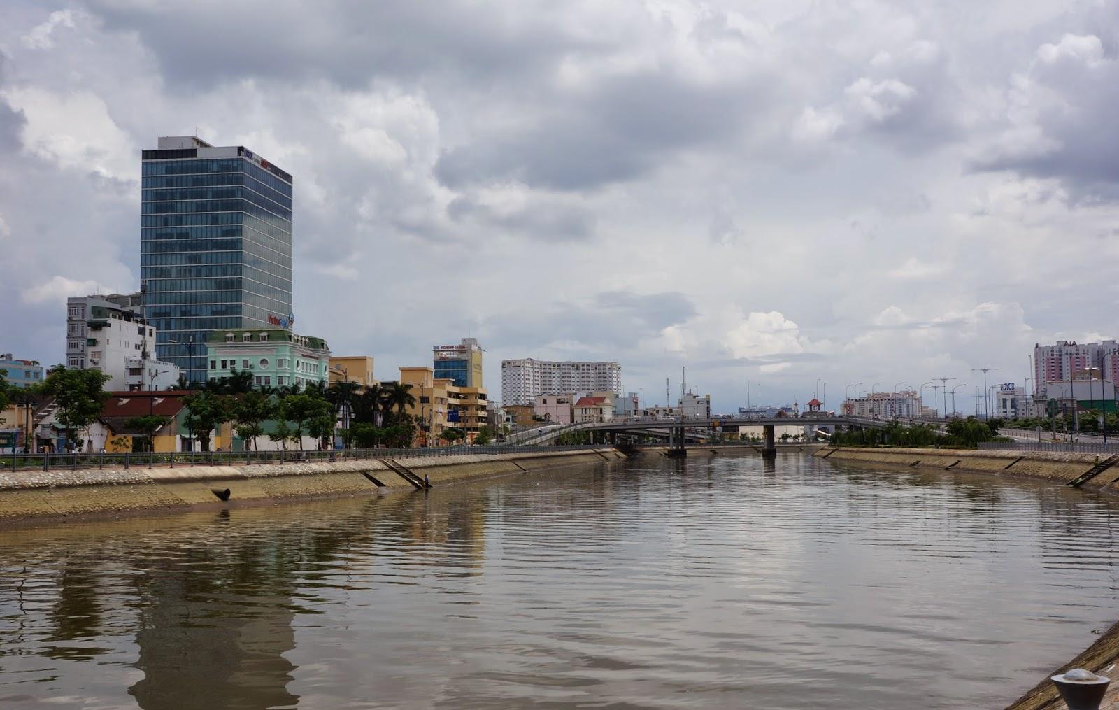 Ho Chi Minh City riverside