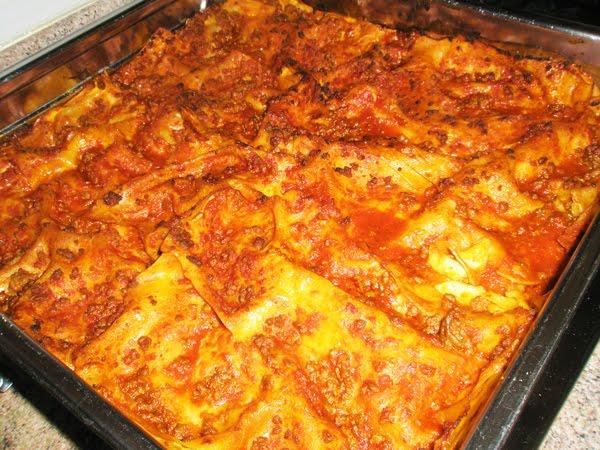 Ricetta Lasagne Fatte In Casa.Le Ricette Di Maripatty Lasagne Al Forno Fatte In Casa