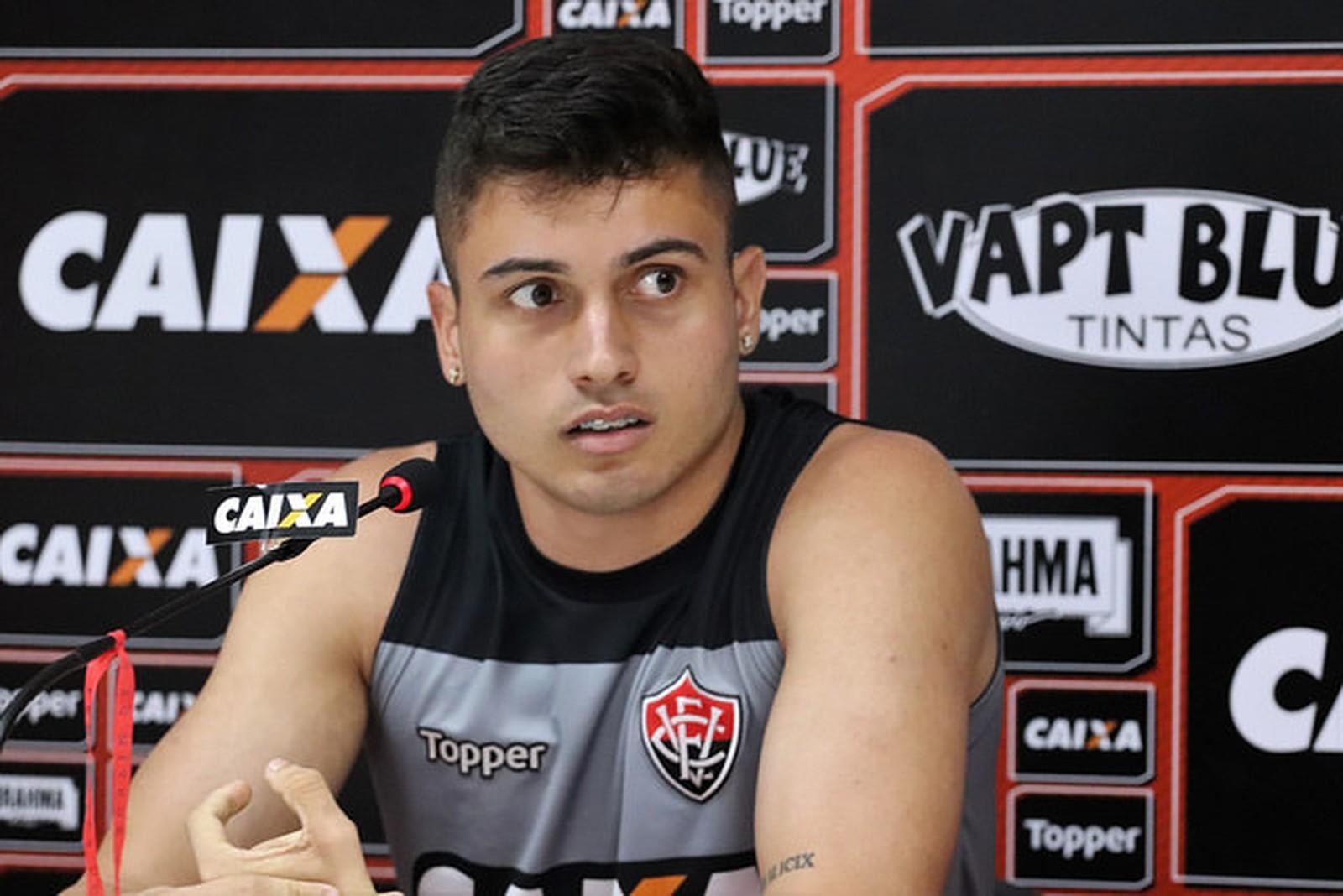 Vitória empresta Luan Silva a time paulista até 2020 1