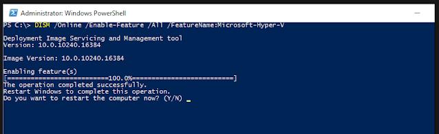 كيفية تثبيت Hyper-V على ويندوز Windows 10
