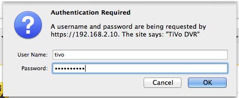 Mac IT Help: TiVo to Mac - Mountain Lion Edition