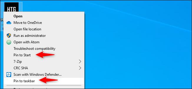 """ثبت صفحة Chrome على """"ابدأ"""" أو شريط المهام"""