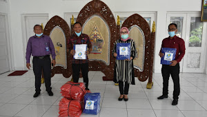 Bank BKK Purwodadi Ikut Tanggulangi Penyebaran Covid-19 di kabupaten Grobogan
