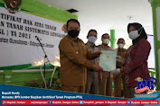 Bupati Hendy Bersama BPN Jember Bagikan Sertifikat Tanah Program PTSL