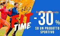 Logo Pittarello FIT TIME - 30% di sconto su un prodotto sportivo