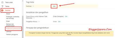 Cara Memasang Deskripsi Penelusuran untuk Menaikkan Trafik Blog