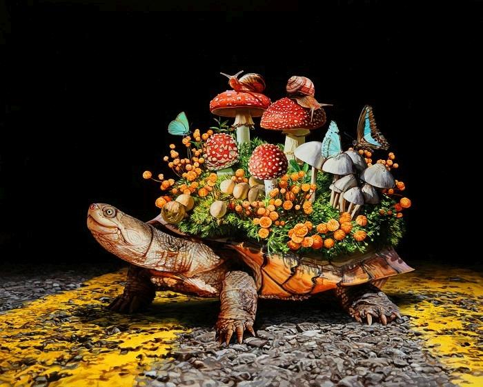 Гиперреалистические картины. Lisa Ericson