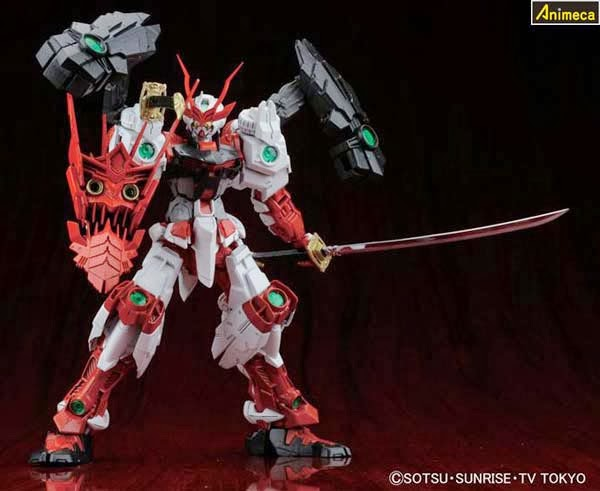 SENGOKU ASTRAY GUNDAM MASTER GRADE (MG) 1/100 MODEL KIT GUNDAM BUILD FIGHTERS BANDAI