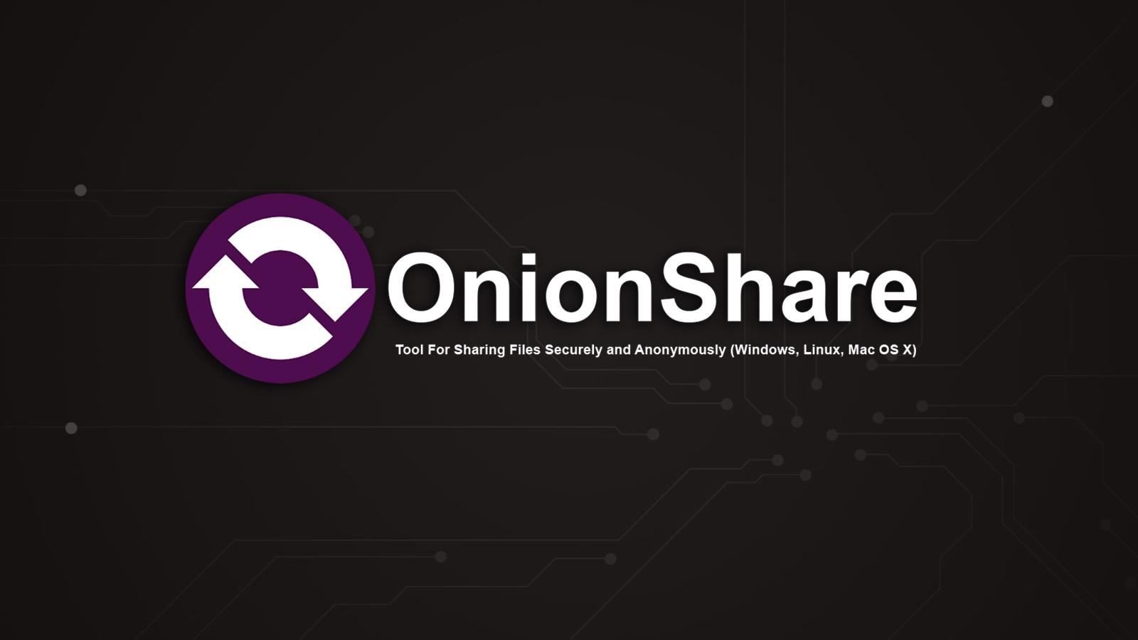 Resultado de imagen de Onion Share