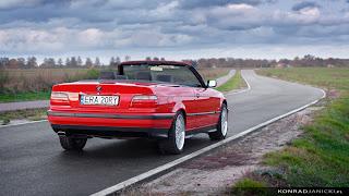 BMW E36 Cabrio Hellrot