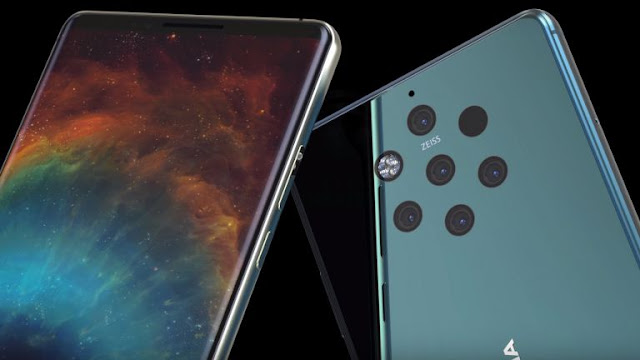 Nokia 9 PureView 'Olympic' smartphone has Android Pie and five Rear Cameras