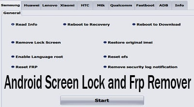 Android Screen Lock and Frp Remover