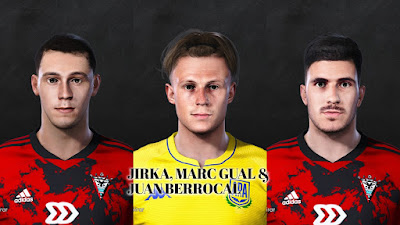 PES 2021 Facepack La Liga SmartBank Vol 10 by Dani