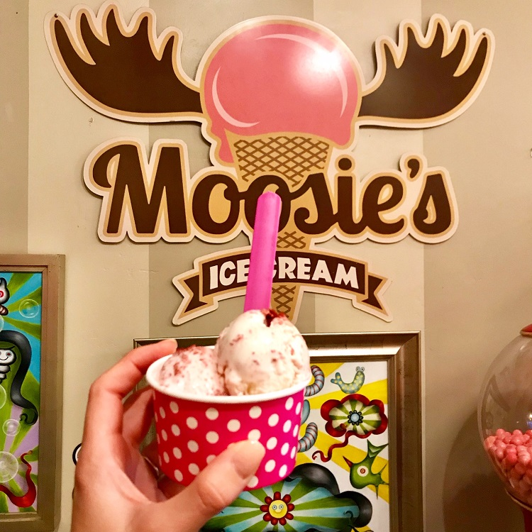 Moosie's Ice Cream, San Diego California