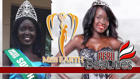 Asara Bullen Panchol es Miss Earth South Sudan 2019