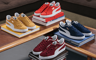 $21, PUMA Sale: Women's Carina Slim Suede Sneaker $17.50, Men's Turino SL Sneaker