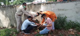 अखिल भारतीय ब्राह्मण महासभा (रा) ने किया वृक्षारोपण