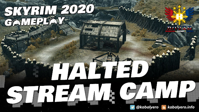 SKYRIM Gameplay 2020 (Modded)! KILL the Bandit Leader Located at Halted Stream Camp!