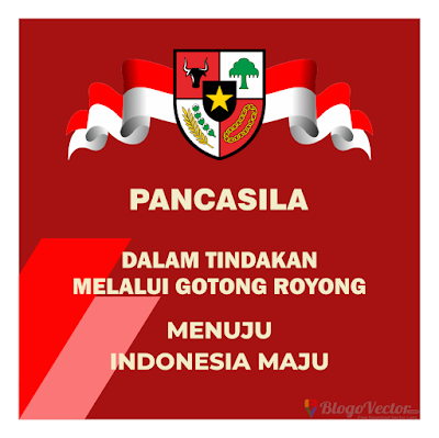 Hari Lahir Pancasila 2020 Logo Vector