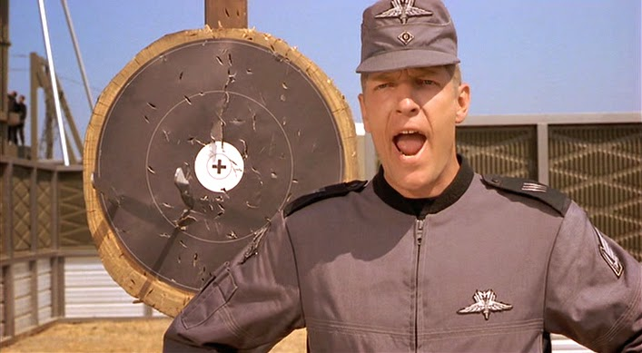 Clancy Brown in Starship Troopers (1997)