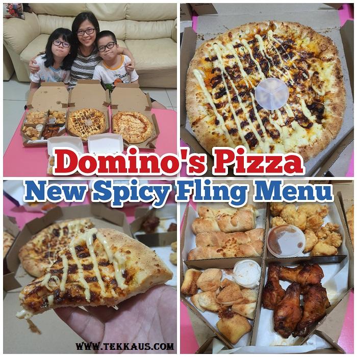 Domino's Pizza New Spicy Fling Menu
