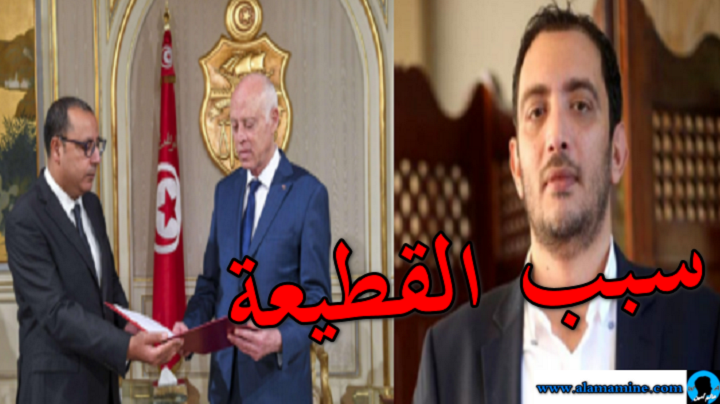 ياسين العيّاري هذا سبب القطيعة الكبرى بين قيس سعيّد وهشام المشيشي