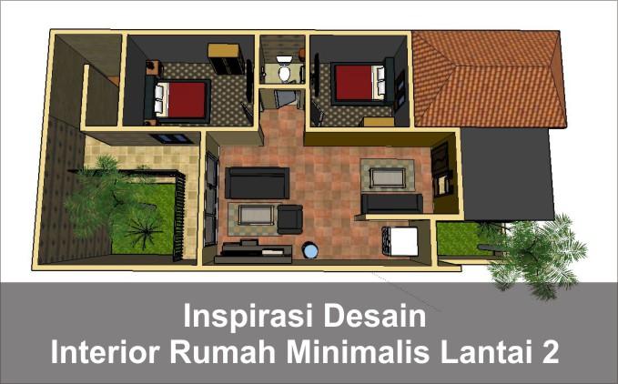 desain interior rumah lantai 2