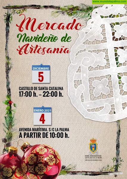 La Avenida Marítima de Santa Cruz de La Palma será el escenario del Mercado Navideño de Artesanía