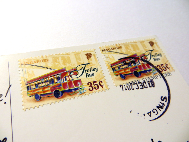 Singapore Bus Stamps