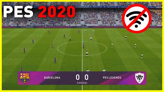 تحميل لعبة بيس PES 2020 للاندرويد بدون انترنت