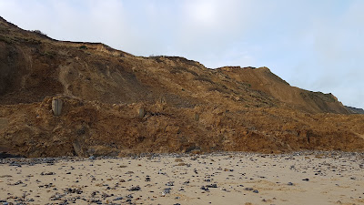 Cliff fall trimmingham beach on January 26th, 2020, image 2