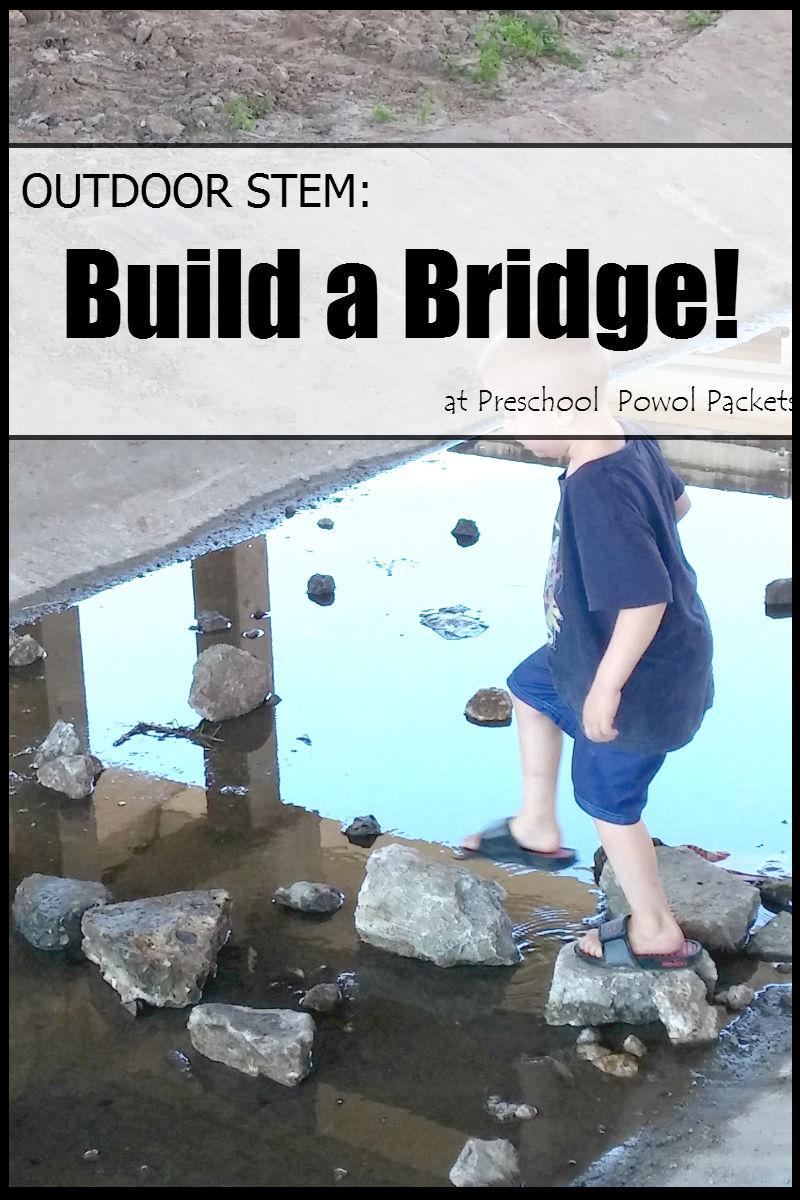 Bridge Challenge Amp Stem Activities Preschool Powol Packets