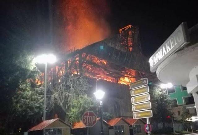 Καταστράφηκε από πυρκαγιά το Μεγάλο Τέμενος του Διδυμοτείχου