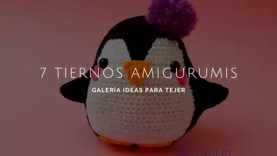 7 Tiernos Amigurumis a Crochet | Galería de Fotos