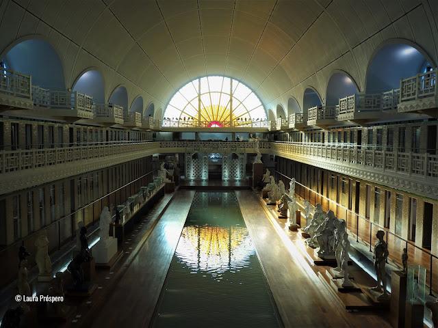 Musée La Piscine de Roubaix, um dos museus mais bonitos da França.