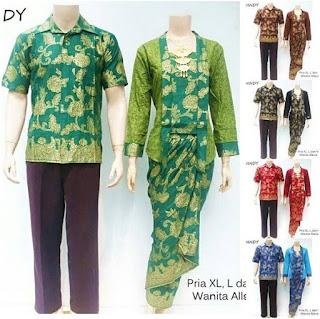 model baju batik sarimbit pasangan