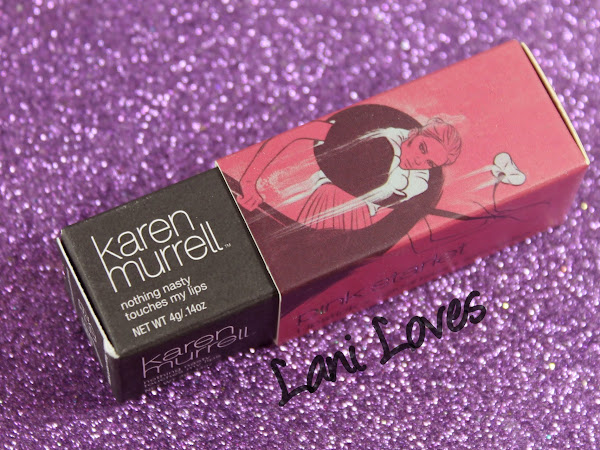 Karen Murrell - Pink Starlet Lipstick Swatches & Review