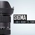 Sigma Releases its New L and E-Mount 24-70mm f/2.8 Art Lens