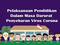 Pelaksanaan Pendidikan Dalam Masa Darurat Penyebaran Virus Corona Sesuai Surat Edaran Mendikbud
