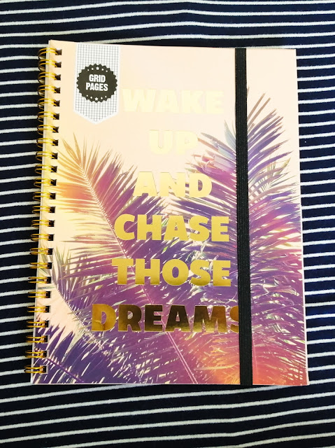 Motivational notebook from Typo