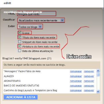 """como colocar efeito """"marquee"""" no bloglist (BlogRoll)"""